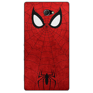 EYP Superheroes Spider Man Back Cover Case For Sony Xperia M2 310340