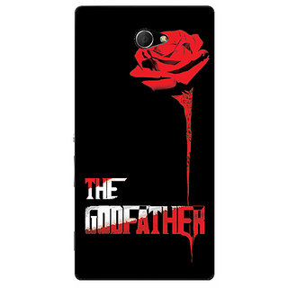 EYP The Godfather Back Cover Case For Sony Xperia M2 310347