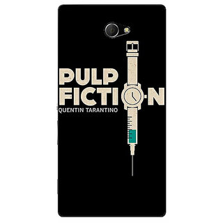 EYP Pulp Fiction Back Cover Case For Sony Xperia M2 310352