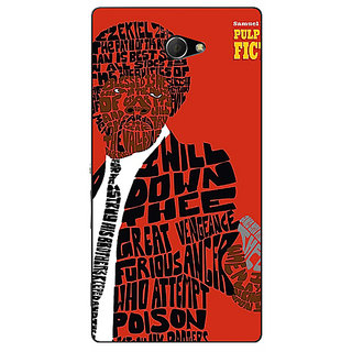 EYP Pulp Fiction Back Cover Case For Sony Xperia M2 310354