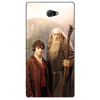 EYP LOTR Hobbit Gandalf Frodo Back Cover Case For Sony Xperia M2 310357