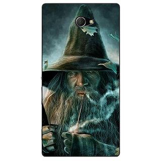 EYP LOTR Hobbit Gandalf Back Cover Case For Sony Xperia M2 310364