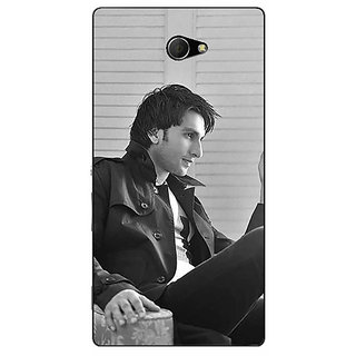 EYP Bollywood Superstar Ranveer Singh Back Cover Case For Sony Xperia M2 310945