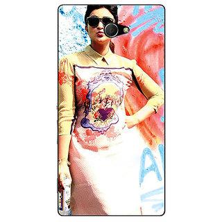 EYP Bollywood Superstar Parineeti Chopra Back Cover Case For Sony Xperia M2 310978
