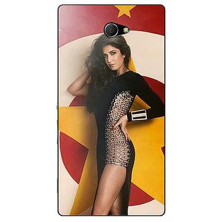 EYP Bollywood Superstar Katrina Kaif Back Cover Case For Sony Xperia M2 310986