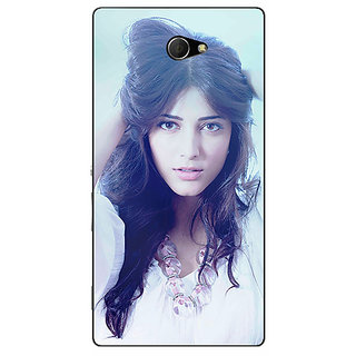 EYP Bollywood Superstar Shruti Hassan Back Cover Case For Sony Xperia M2 310988