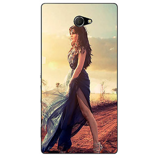 EYP Bollywood Superstar Jacqueline Fernandez Back Cover Case For Sony Xperia M2 310990