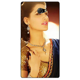 EYP Bollywood Superstar Nargis Fakhri Back Cover Case For Sony Xperia M2 310997
