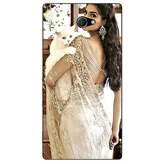 EYP Bollywood Superstar Sonam Kapoor Back Cover Case For Sony Xperia M2 310998