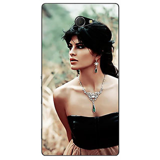 EYP Bollywood Superstar Jacqueline Fernandez Back Cover Case For Sony Xperia M2 311006