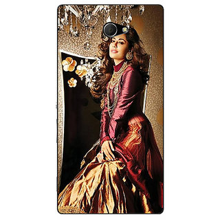 EYP Bollywood Superstar Chitrangada Singh Back Cover Case For Sony Xperia M2 311033