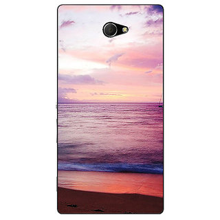 EYP Sunset At the Beach Back Cover Case For Sony Xperia M2 311136