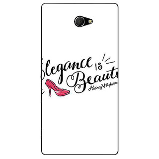 EYP Quotes Beautiful Back Cover Case For Sony Xperia M2 311188