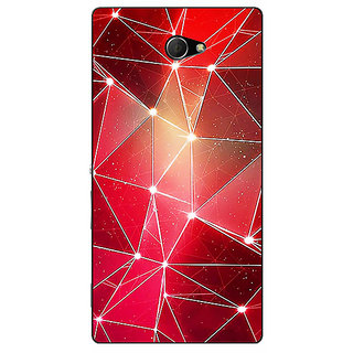 EYP Crystal Prism Back Cover Case For Sony Xperia M2 311413
