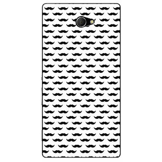 EYP Moustache Back Cover Case For Sony Xperia M2 311448