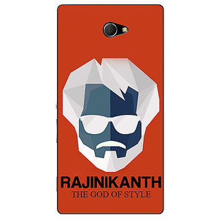 EYP Rajni Rajanikant Back Cover Case For Sony Xperia M2 311484