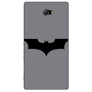 EYP Superheroes Batman Dark knight Back Cover Case For Sony Xperia M2 Dual 320018