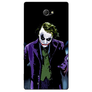 EYP Villain Joker Back Cover Case For Sony Xperia M2 Dual 320045