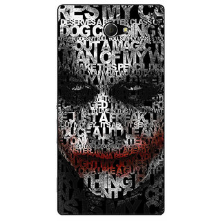 EYP Villain Joker Back Cover Case For Sony Xperia M2 Dual 320047