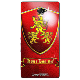 EYP Game Of Thrones GOT House Lannister  Back Cover Case For Sony Xperia M2 Dual 320164