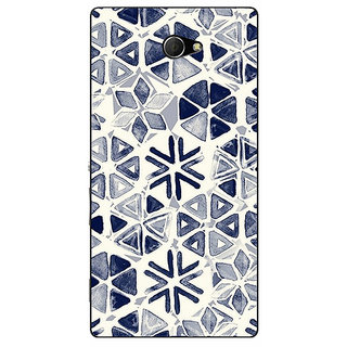 EYP Snow winter Pattern Back Cover Case For Sony Xperia M2 Dual 320278