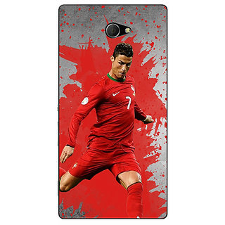 EYP Cristiano Ronaldo Portugal Back Cover Case For Sony Xperia M2 Dual 320318