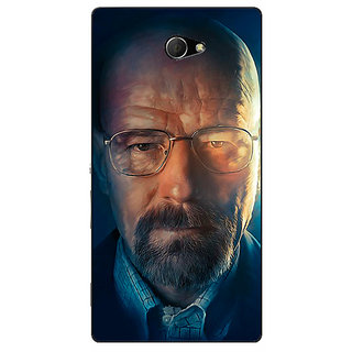 EYP Breaking Bad Heisenberg Back Cover Case For Sony Xperia M2 310417