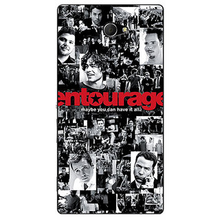 EYP Entourage Back Cover Case For Sony Xperia M2 310438