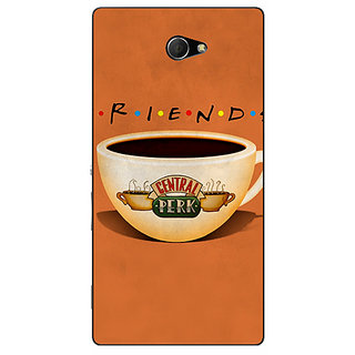 EYP FRIENDS Back Cover Case For Sony Xperia M2 310444