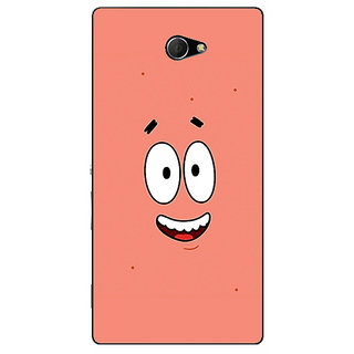 EYP Spongebob Patrick Back Cover Case For Sony Xperia M2 310465