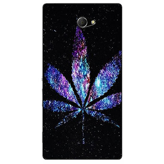 EYP Weed Marijuana Back Cover Case For Sony Xperia M2 Dual 320494