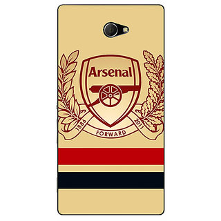 EYP Arsenal Back Cover Case For Sony Xperia M2 Dual 320519