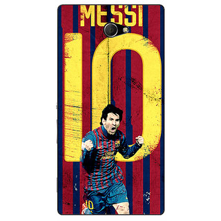 EYP Barcelona Messi Back Cover Case For Sony Xperia M2 Dual 320528