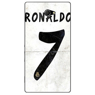 EYP Real Madrid Ronaldo Back Cover Case For Sony Xperia M2 Dual 320598