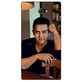EYP Bollywood Superstar Aamir Khan Back Cover Case For Sony Xperia M2 Dual 320915