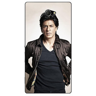 EYP Bollywood Superstar Shahrukh Khan Back Cover Case For Sony Xperia M2 Dual 320935