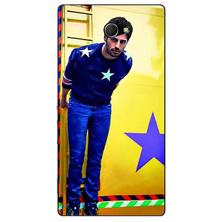 EYP Bollywood Superstar Siddharth Malhotra Back Cover Case For Sony Xperia M2 Dual 320944