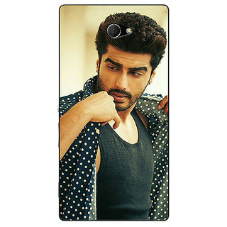 EYP Bollywood Superstar Arjun Kapoor Back Cover Case For Sony Xperia M2 Dual 320963
