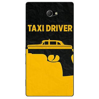EYP Hollywood Taxi Driver Back Cover Case For Sony Xperia M2 Dual 321095