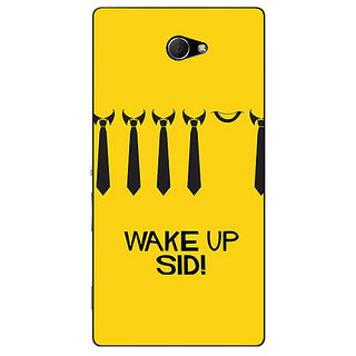 EYP Bollywood Superstar Wake Up Sid Back Cover Case For Sony Xperia M2 Dual 321096