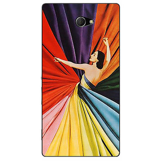 EYP Colours Back Cover Case For Sony Xperia M2 311381