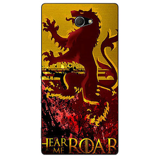 EYP Game Of Thrones GOT House Lannister Back Cover Case For Sony Xperia M2 311540