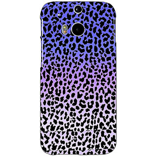 EYP Cheetah Leopard Print Back Cover Case For HTC One M8 Eye 330082