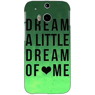 EYP Dream Love Back Cover Case For HTC One M8 Eye 330094