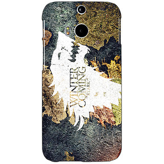 EYP Game Of Thrones GOT House Stark  Back Cover Case For HTC One M8 Eye 330124