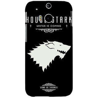 EYP Game Of Thrones GOT House Stark  Back Cover Case For HTC One M8 Eye 330132