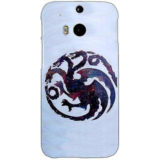 EYP Game Of Thrones GOT House Targaryen  Back Cover Case For HTC One M8 Eye 330152
