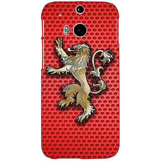 EYP Game Of Thrones GOT House Lannister  Back Cover Case For HTC One M8 Eye 330155