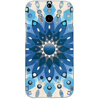 EYP Dream Flower Pattern Back Cover Case For HTC One M8 Eye 330255