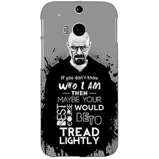 EYP Breaking Bad Heisenberg Back Cover Case For HTC One M8 Eye 330427